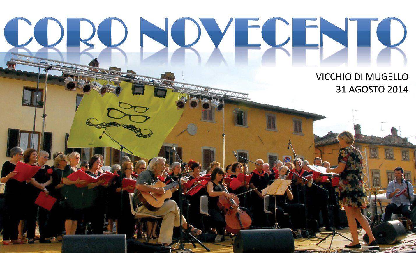 coro novecento 900 vicchio