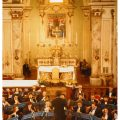 Il concerto della Filarmonica Verdi di Barberino alla Badia