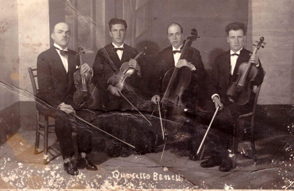 Il Quartetto Benelli, anni Venti