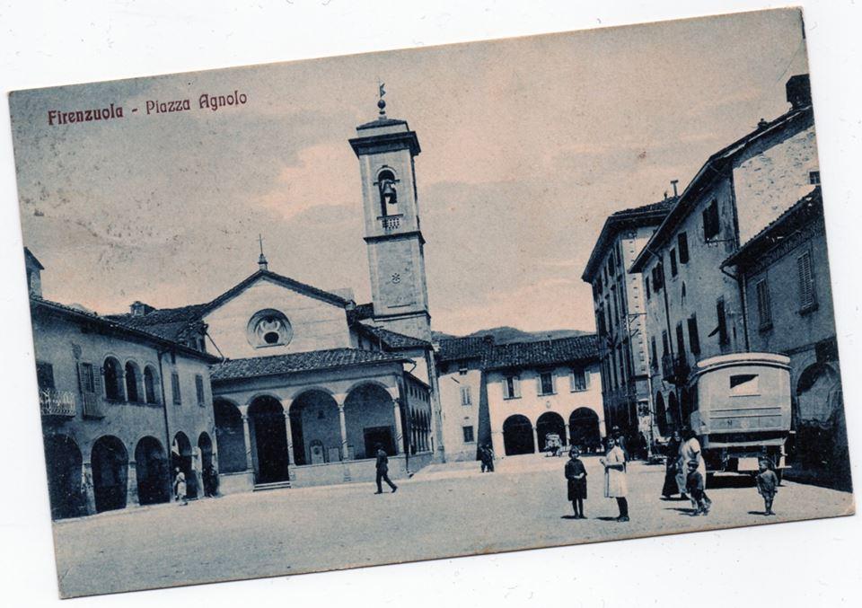 Firenzuola piazza Agnolo