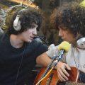 Con Yuri Salihi, La Notte e Giulio Maria Di Salvo presso Radio Kaos Italy