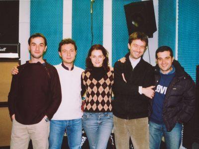 Lorien in studio 15 dicembre 2003